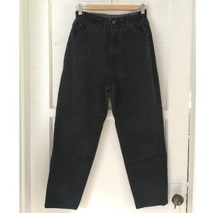 Vintage Lee High Waisted Tapered Mom Jeans